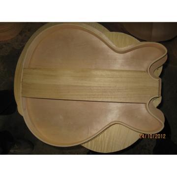 Custom Shop LP Dave Grohl Pelham Blue DG-335 Electric Guitar Frets and Fretboard Bindings