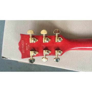 Custom Shop LP Mahogany Body Cherry Natural Sunburst Electric Guitar