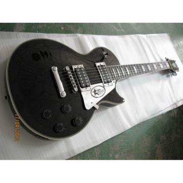 Custom Shop LP Black Electric Guitar