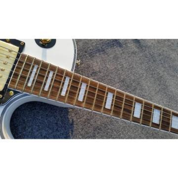 Custom Shop LP Hands On White Electric Guitar