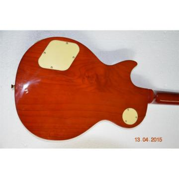 Custom Shop LP Alder Body Natural Sunburst Electric Guitar