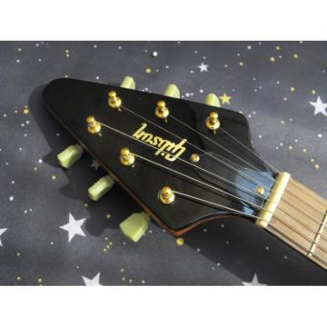 Custom Shop LP  Firehawk Natural Electric Guitar Flying V