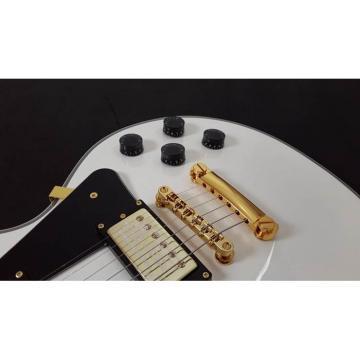 Custom Shop LP 1960 Vintage White Gold Hardware Electric Guitar