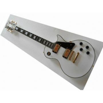 Custom Shop guitarra PEarl White Ebony Fretboard Electric Guitar