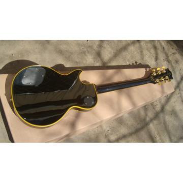 Custom Shop guitarra Black Beauty Yellow Accent Electric Guitar