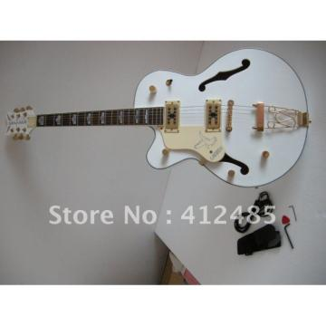 Custom Shop Left Hand Gretsch White Electric Guitar