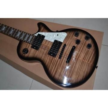 Custom Shop Joe Perry Brown Veneer Top Electric Guitar