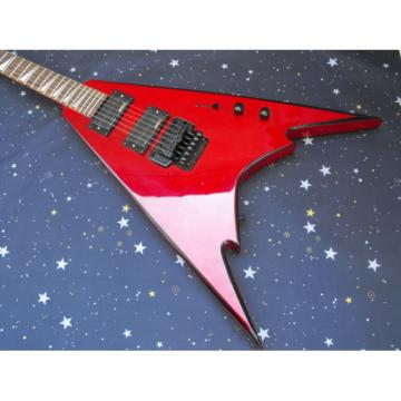 Custom Shop Inspired Jackson Red Electric Guitar