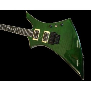 Custom Shop Jackson KE2 Flame Maple Top Green Electric Guitar