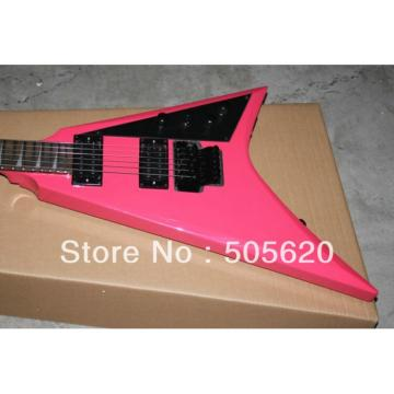 Custom Shop Jackson Pink Electric Guitar