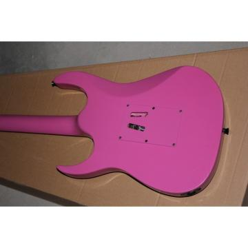 Custom Shop Ibanez Pink Electric Guitar Neck Through Body