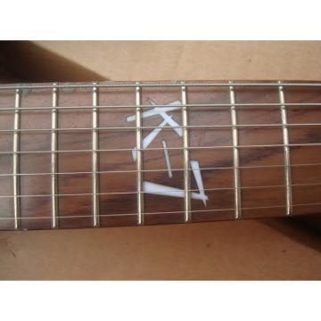 Custom Shop Ibanez Jem Vai Black Electric Guitar