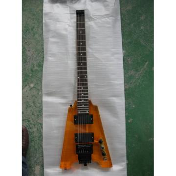 Custom Shop Headless Sunburst Acrylic Electric Guitar