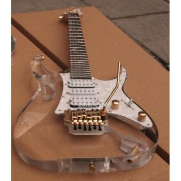 Custom Shop Ibanez Acrylic White Electric Guitar