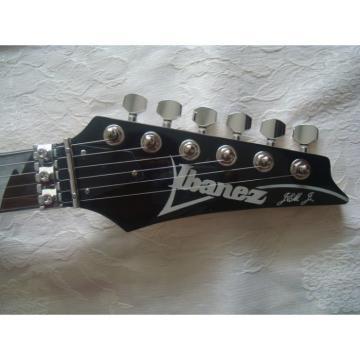 Custom Shop Ibanez Jem 7 Vai Black Electric Guitar