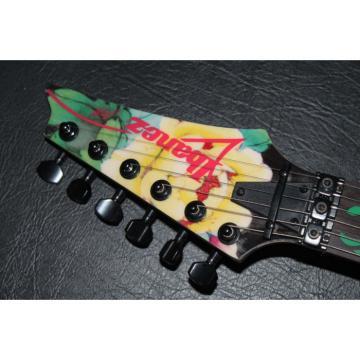 Custom Shop Ibanez Flower Electric Guitar