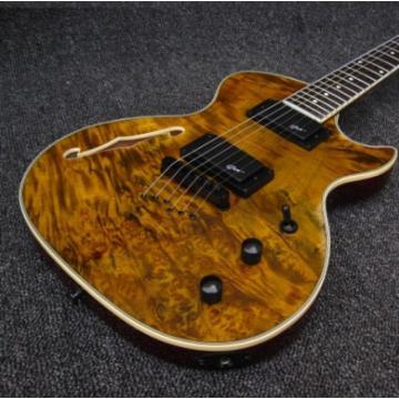 Custom Shop Grote 6 String Golden Electric Guitar