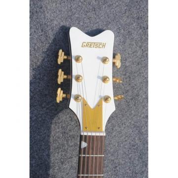 Custom Shop Florentine Gretsch White Electric Guitar