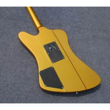 Custom Shop Firebird Golden Mist Poly Floyd Rose Tremolo Electric Guitar