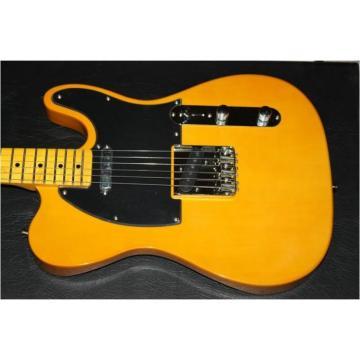 Custom Shop Fender Telecaster Yellow Electric Guitar