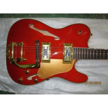 Custom Shop Fender Orange Telecaster Electric Guitar