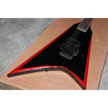 Custom Shop ESP Red Black Electric Guitar