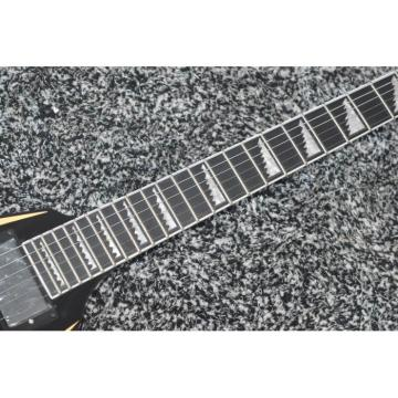 Custom Shop ESP Alexi Laiho Cream Black Electric Guitar Flying V