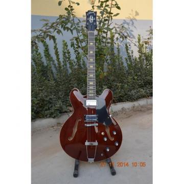 Custom Shop ES335 Curly Walnut Brown Electric Guitar
