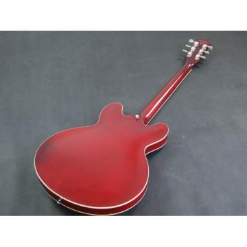 Custom Shop ES335 VOS Burgundy Red Jazz Electric guitar