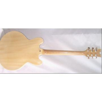 Custom Shop ES335 Spalted Natural Maple Veneer Electric Guitar