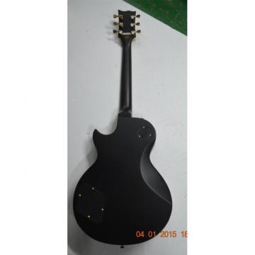 Custom Shop Eclipse ESP Matte Black Electric Guitar