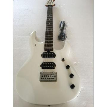 Custom Shop Ernie Ball Musicman White Electric Guitar