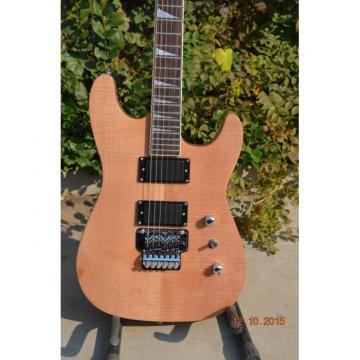 Custom Shop Dinky Jackson Soloist Electric Guitar Natural Finish
