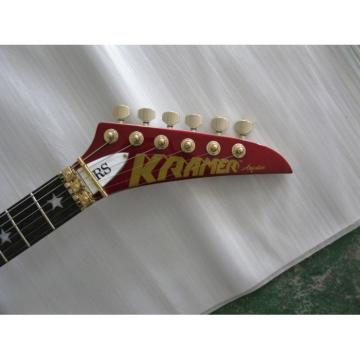 Custom Shop Dark Red Electric Guitar