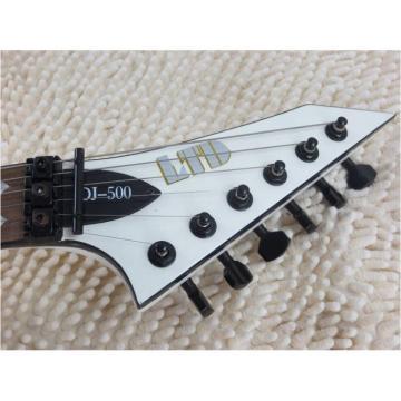 Custom Shop Dan Jacobs LTD ESP Blood Spatter Electric Guitar Authorized EMG Pickups