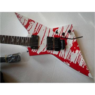 Custom Shop Dan Jacobs LTD Blood Spatter Electric Guitar