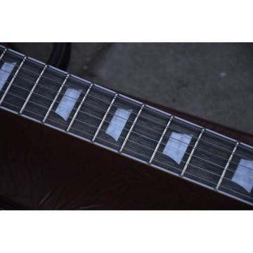 Custom Shop Brown Wave LP Electric Guitar