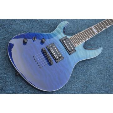 Custom Shop Blue Veneer Quilted Maple Top Electric Guitar