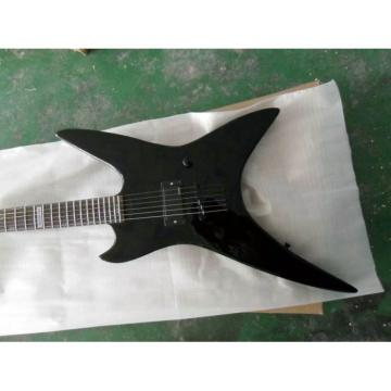 Custom Shop Black Flying V Bat ESP Electric Guitar