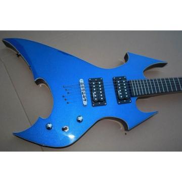 Custom Shop Avenge Blue BC Rich Electric Guitar