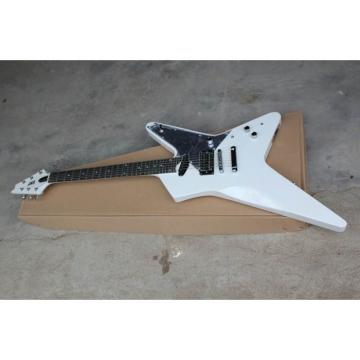 Custom Shop 6 String White Crying Star ESP Electric Guitar