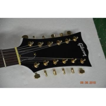 Custom Shop 12 String Arctic White LP Electric Guitar