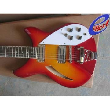 Custom Rickenbacker 330 12 Strings Sun Burst Electric Guitar