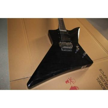 Custom James Hetfield ESP LTD Black Electric Guitar Graphite Nut MX250