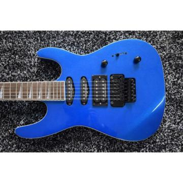 Custom Jackson Soloist Metallic Blue X Series Electric Guitar