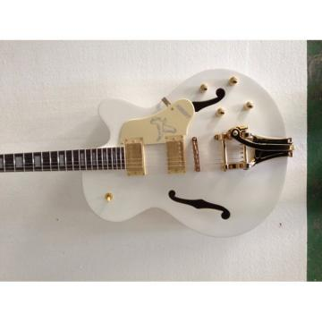 Custom Gretsch Falcon White Electric Guitar
