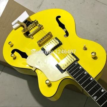 Custom G6120 Gretsch Yellow Monaco Electric Guitar
