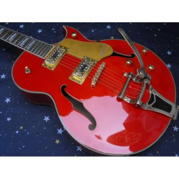 Custom G6120 Gretsch Brick Red Electric Guitar