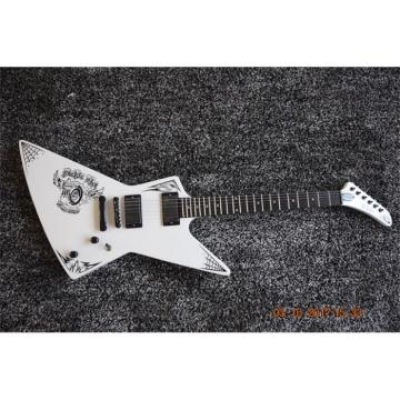 Custom Build ESP Korina White Electric Guitar