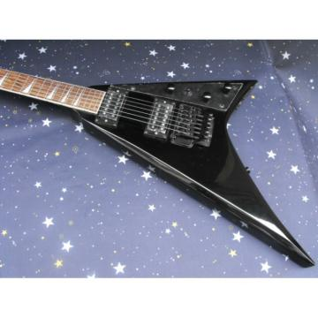 Custom Shop Flying V Jackson USA RR1 Randy Rhoads Black Guitar